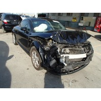 2001 Audi TT 1.8t 180hp 5 speed black damaged front for parts