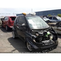 2009 Smart Fortwo Brabus automatic damaged front for parts