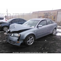 2006 Audi A4 2.0 automatic quattro grey damaged front for parts