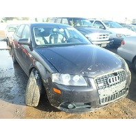 2007 Audi A3 3.2 automatic quattro black damaged left side for parts