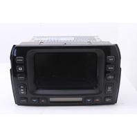 GPS Climate Control Navigation Display Unit 2007 Jaguar Xj8 Vanden Plas 4.2L 2W93-10E889-AG
