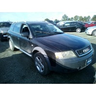 2005 Audi A6 Allroad Black 2.7 theft recovery for parts