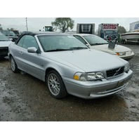 2004 Volvo C70 2.3 turbo automatic convertible silver for parts