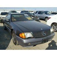1992 Mercedes 300SL damaged right rear grey automatic for parts