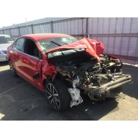 2012 Volkswagen Jetta GLI damaged front 2.0t red automatic for parts