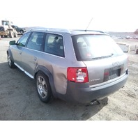2001 Audi A6 Allroad grey 2.7 automatic damaged rear end for parts