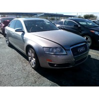 2006 Audi A6 3.2 Quattro grey automatic damaged left side for parts