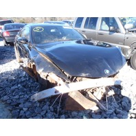 2006 BMW M6 black damaged front for parts