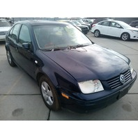 2003 Volkswagen Jetta 1.8t automatic blue mechanical damage for parts