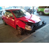 2007 Volkswagen GTI red 2 door 2.0t automatic damaged front for parts