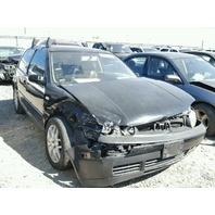 2002 Volkswagen GTI black 1.8t 5 speed damaged right front for parts