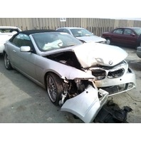 2004 Bmw 645CI convertible damaged front for parts