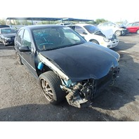 2005 Volkswagen Jetta Gli 1.8t black automatic damaged front for parts