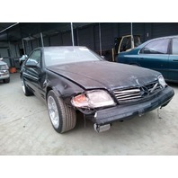 1999 Mercedes 500SL black 5.0 theft recovery for parts
