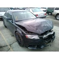 2009 Audi A4 2.0t quattro sedan automatic black damaged front for parts