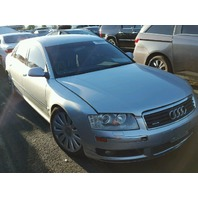 2005 Audi A8 4.2 Silver Automatic Flood Damage For Parts