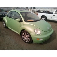 2003 Volkswagen Beetle Green 1.8 automatic damage rear for parts