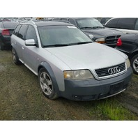 2004 Audi Allroad 2.7 automatic silver damaged left front for parts