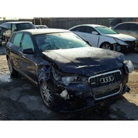 2006 Audi A3 3.6 automatic blue damaged front for parts