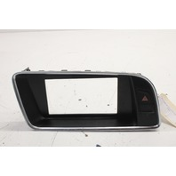 2011 Audi Q5 2.0T Automatic Dash Screen Display Bezel Trim 8R1857186N