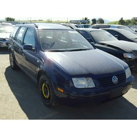 2003 Volkswagen Jetta wagon blue 1.8t automatic mechanical damage for parts