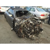 2006 Bmw 650 convertible grey engine burn for parts