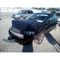 2008 Audi A3 black 2.0 automatic damaged right front for parts