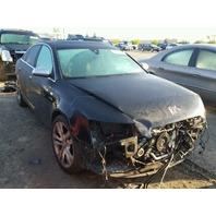 2008 Audi S6 V10 black damaged front for parts