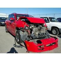 2006 Porsche Cayenne S Titanium red damaged front for parts