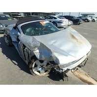 2001 Audi TT convertible silver 225hp roll over damage for parts