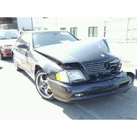 2002 Mercedes 500Sl black damaged left front for parts