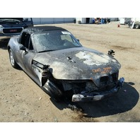 2000 Bmw Z3 2.5 engine fire damage for parts