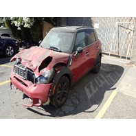 2013 Mini Cooper Countryman S 4Dr 4WD Wagon damaged front for parts