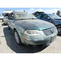 2003 Volkswagen Passat W8 wagon theft recovery for parts