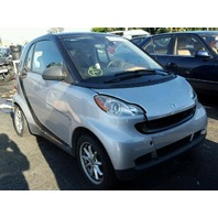 2008 Smart Fortwo Passion silver damaged rear for parts