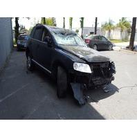 2004 Volkswagen Touareg V6 black roll over damage for parts