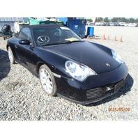 2004 Porsche 911 C4S convertible under carriage damage for parts