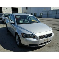 2004 Volvo S40 silver damaged left rear for parts