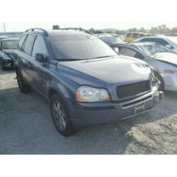 2005 Volvo XC90 4.4 teal damaged left front for parts