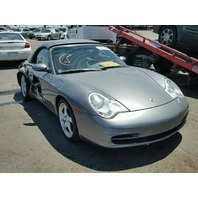 2003 Porsche 911 996 3.6 convertible damaged right rear for parts