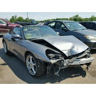 2003 Porsche 911 Cabriolet damaged front for parts
