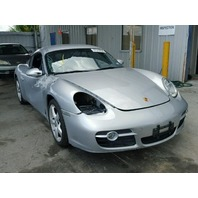 2007 Porsche Cayman S silver damaged right side for parts