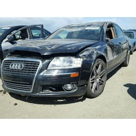 2007 Audi A8 rollover damage for parts