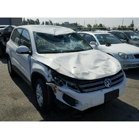2013 Volkswagen Tiguan rollover 2.0t automatic for parts