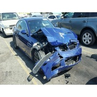 2008 Bmw M3 SMG damaged front blue convertible for parts