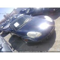 2000 Porsche Boxster S 3.2 6 speed blue damaged rear for parts 49k miles