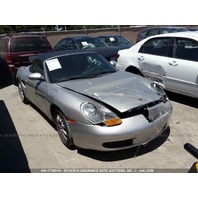 2000 Porsche Boxster 2.7 automatic silver damaged front for parts