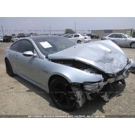 2007 Bmw M6 5.0 SMG silver coupe damaged front for parts