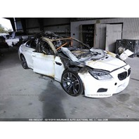2015 Bmw M6 white interior fire damage for parts
