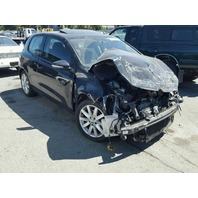 2011 Volkswagen Golf  2 door black Tdi damaged front for parts